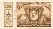 500 Mio. Mark 12.9.1923, Freudenstadt, Bai...