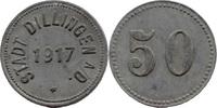 50 Pf 1917, Dillingen (Bayern) - Stadt,  s...