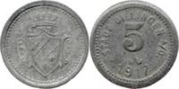 5 Pf 1917, Dillingen (Bayern) - Stadt,  ss-vz