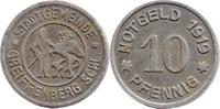 10 Pf 1919, Greiffenberg (Schlesien) - Sta...