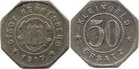 50 Pf 1917, Herrenberg (Württemberg) - Sta...