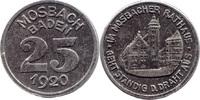 10 Pf 1918, Mosbach (Baden) - Stadt,  ss
