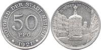 50 Pf 1921, Neisse (Schlesien) - Stadt, Sc...