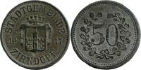 50 Pf 1917 Zirndorf (Bayern) - Stadtgemein...