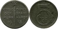 5 Pf 1918 Murrhardt (Württemberg) - Stadt,...