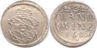 2½ Kreuzer 1680, Bayern, Maximilian II. Em...