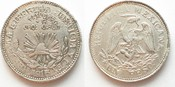 1915 Mexiko - Guerrero Mexiko GUERRERO - TAXCO Peso 1915 EMILIANO ZAPATO Silber PRACHTSTÜCK!!!# 95783 f.st