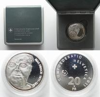 Schweiz  2011 PP CH - PROBE 20 Franken 2011 MAX FR
