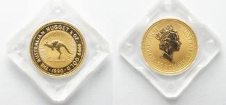 Australien  1990 st 1/2 oz Gold AUSTRALIEN 50 Doll