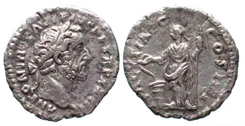 159-160 Roman Imperial ANTONINUS PIUS 138-161 AR-Denarius 159-160 SALVTI AVG COSIIII Salus XF! # 37700 SUP