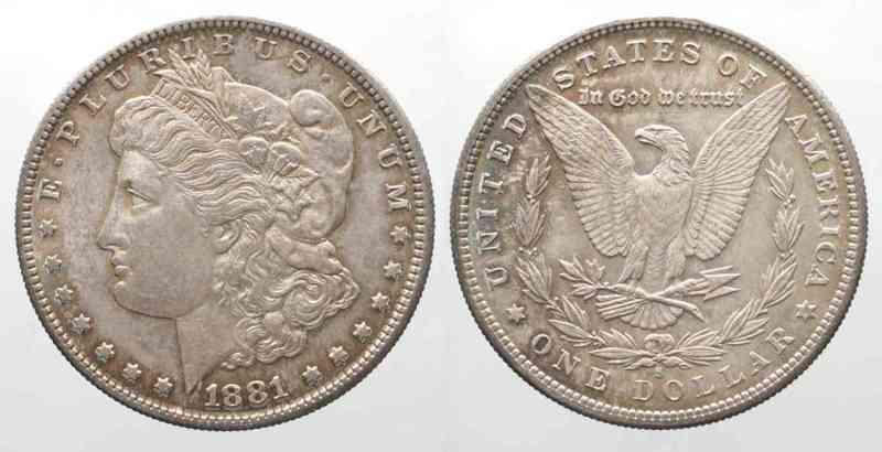 Silberdollar Am 2. April wurde durch Beschluss des Kongresses der Vereinigten Staaten von Amerika verfügt, eine Silbermünze mit dem Namen Dollar zu schaffen, nachdem der Dollar bereits als Währungseinheit beschlossen worden war.