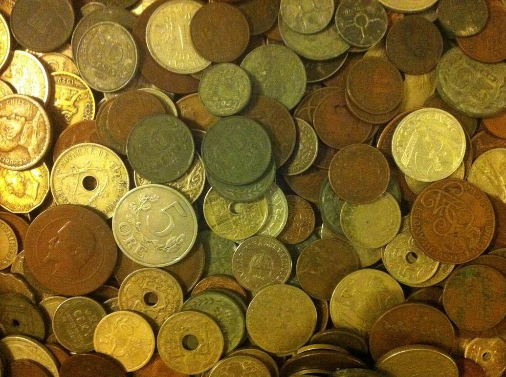 Kiloware 10 kg World coins bulk