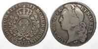 1744 Frankreich FRANKREICH 1/2 Ecu 1744 G...
