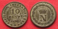 1809 Italien NAPOLEONE Re d Italia 10 Cen...