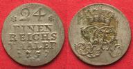 1757 Preussen PREUSSEN 1/24 Taler 1757 F ...