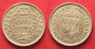 1943 Britisch Guyana BRITISH GUIANA 4 Pen...