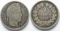 1833 Frankreich FRANKREICH 2 Francs 1833 ...