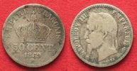 1869 Frankreich FRANKREICH 50 Centimes 18...