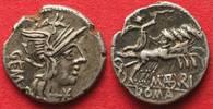 -132 Roman Republic MARCIUS ABURIUS GEMIN...