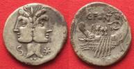 -114/-113 Roman Republic CAIUS FONTEIUS 1...