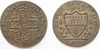1827 Schweiz - Waadt WAADT / VAUD 1 Batze...