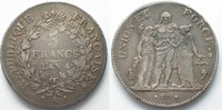 1795-1796 Frankreich FRANKREICH 5 Francs ...