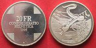 1995 Schweiz EIDGENOSSENSCHAFT 20 Franken...