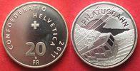 2011 Schweiz EIDGENOSSENSCHAFT 20 Franken...