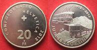 2012 Schweiz EIDGENOSSENSCHAFT 20 Franken...