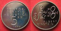 1979 Schweiz EIDGENOSSENSCHAFT 5 Franken ...