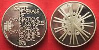 1978 Schweiz - Medaillen GENF EIDGENÖSSIS...
