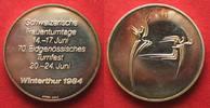 1984 Schweiz - Medaillen WINTERTHUR EIDGE...