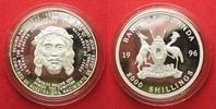 1996 Uganda UGANDA 2000 Shillings 1996 JE...