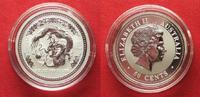 2000 Australien 1/2 Unze pures Silber JAH...