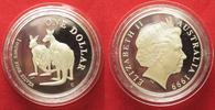1999 Australien 1 Unze pures Silber AUSTR...