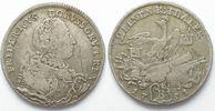 1751 Preussen PREUSSEN 1/2 Taler 1751 B F...
