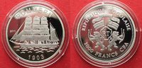 2011 Togo TOGO 1000 Francs 2011 Ship POMMERN silver Proof VERY SCARCE!... 69,99 EUR  +  5,00 EUR shipping