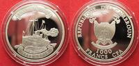 2010 Kamerun CAMEROON 1000 Francs 2011 Ship HOHENZOLLERN silver Proof ... 69,99 EUR  +  5,00 EUR shipping