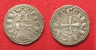 905-1134 Frankreich BEARN Denar anonym 90...