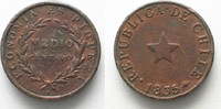 1835 Chile CHILE 1/2 Centavo 1835 thick planchet copper VF # 94910 ss  19,99 EUR  +  5,00 EUR shipping