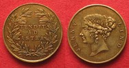 1870 British Tokens JENNY LIND Brass Toke...