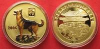 2006 Nordkorea NORTH KOREA 20 Won 2006 Lunar YEAR OF THE DOG brass COL... 11,99 EUR  +  5,00 EUR shipping