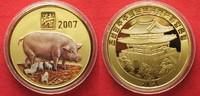 2007 Nordkorea NORTH KOREA 20 Won 2007 Lunar YEAR OF THE PIG brass COL... 11,99 EUR  +  5,00 EUR shipping