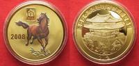2008 Nordkorea NORTH KOREA 20 Won 2008 Lunar YEAR OF THE HORSE brass C... 11,99 EUR  +  5,00 EUR shipping