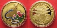 2008 Nordkorea NORTH KOREA 20 Won 2008 Lunar YEAR OF THE SNAKE brass C... 11,99 EUR  +  5,00 EUR shipping