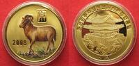 2008 Nordkorea NORTH KOREA 20 Won 2008 Lunar YEAR OF THE GOAT brass CO... 11,99 EUR  +  5,00 EUR shipping