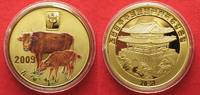 2009 Nordkorea NORTH KOREA 20 Won 2009 Lunar YEAR OF THE OX brass COLO... 11,99 EUR  +  5,00 EUR shipping
