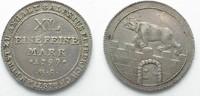 1799 Anhalt-Bernburg ANHALT-BERNBURG 1/3 Thaler 1799 HS ALEXIUS FRIED.... 89,99 EUR  plus 5,00 EUR verzending
