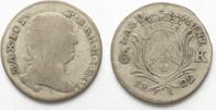 1802 Bayern BAYERN 6 Kreuzer 1802 MAXIMIL...