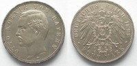 1893 Bayern BAYERN 5 Mark 1893 D OTTO Sil...